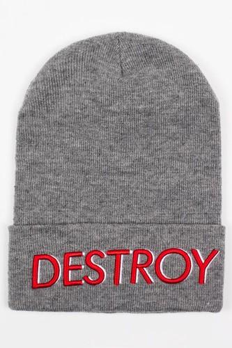 цена на Шапка TRUESPIN Destroy (Heather Grey)