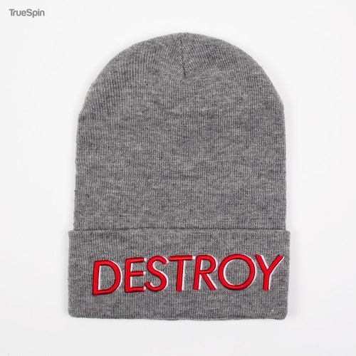 Шапка TRUESPIN Destroy (Heather Grey) шапка truespin native patch fw15 heahter grey