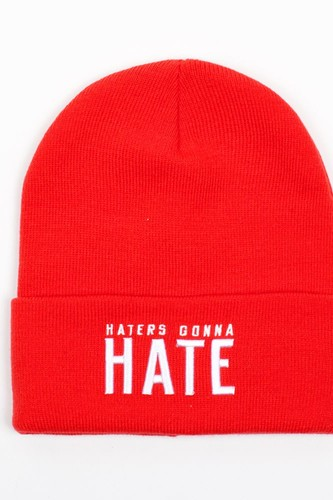 Шапка TRUESPIN Hate (Red)
