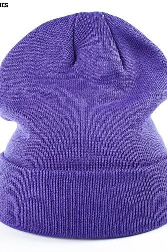 Шапка URBAN CLASSICS Flap Beanie (Purple) цена 2017