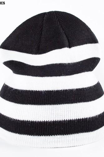 Шапка URBAN CLASSICS 2 Stripe Beanie (Black-White)