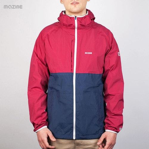Ветровка MAZINE Concrete Light Jacket (Rumba-Red-Navy, M) ветровка mazine sobral jacket navy pineneedle s