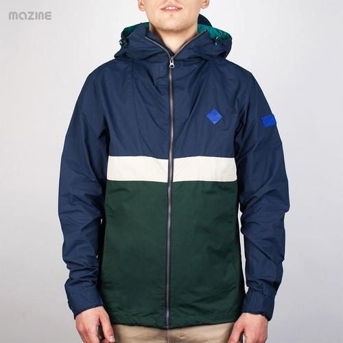 Ветровка MAZINE Sobral Jacket (Navy-Pineneedle, S) ветровка mazine glacier light windbreaker rainy day baltic xs