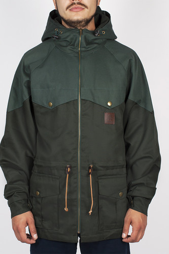 Куртка TURBOKOLOR Ewald Plus Jacket SS14 (Green/Green, L)