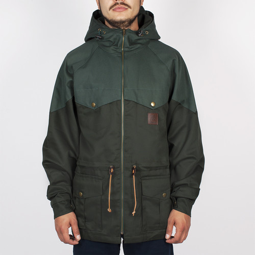 купить Куртка TURBOKOLOR Ewald Plus Jacket SS14 (Green/Green, L) дешево