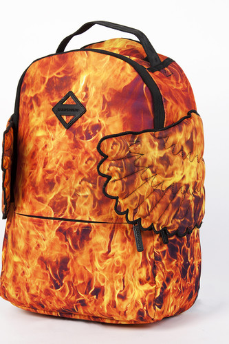 Рюкзак SPRAYGROUND Hades Fire Wings Backpack (B294-Multicolor)