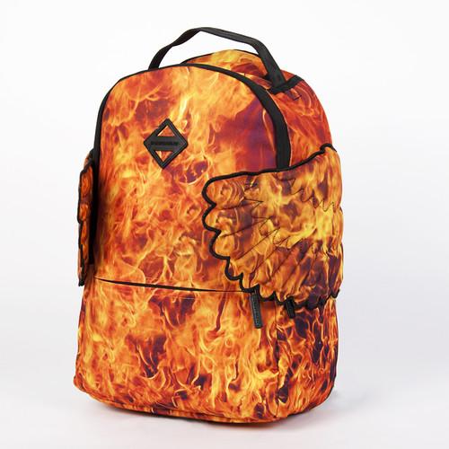 цена Рюкзак SPRAYGROUND Hades Fire Wings Backpack (B294-Multicolor) онлайн в 2017 году