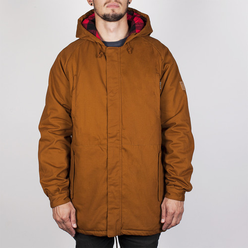 Куртка MAZINE Liverpool Parka (Simian Brown-12486, L) цена и фото