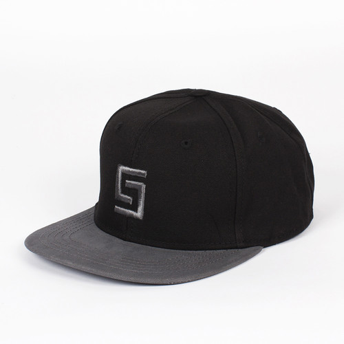 Бейсболка CROOKS & CASTLES Greco Logo Snapback (Black/Grey, O/S) все цены