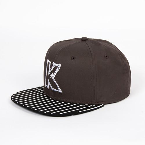 Бейсболка KANGOL Nyc Links Cap (Grey, O/S)