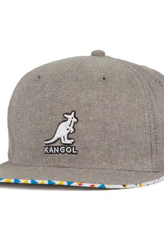 Бейсболка KANGOL Construct Links (Argent-Chambray-AC019, O/S) цена