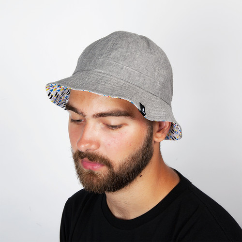 Панама KANGOL Construct Reversible Casual (Argent, S)