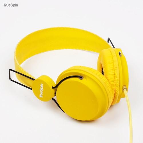 Наушники TRUESPIN Basic Headphone (Yellow) наушники truespin basic headphone yellow
