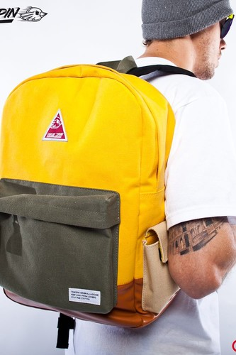 Рюкзак TRUESPIN (Beige-Yellow-Blue) стоимость