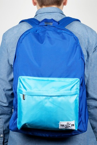 Рюкзак TRUESPIN New School Backpack (Royal-Blue-Camo)