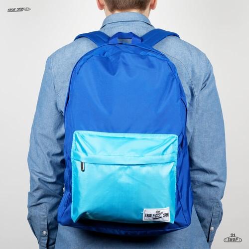 лучшая цена Рюкзак TRUESPIN New School Backpack (Royal-Blue-Camo)