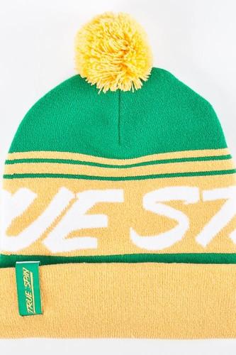 Шапка TRUESPIN Jacquard Styles (Yellow-Green)