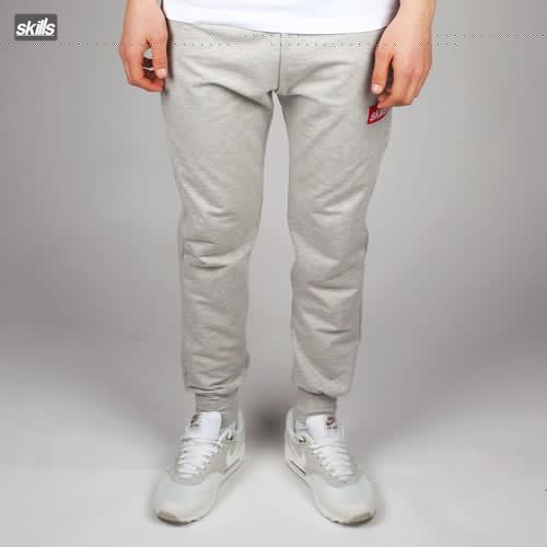 Брюки SKILLS Light Weight Sweatpants (Light-Grey, S)