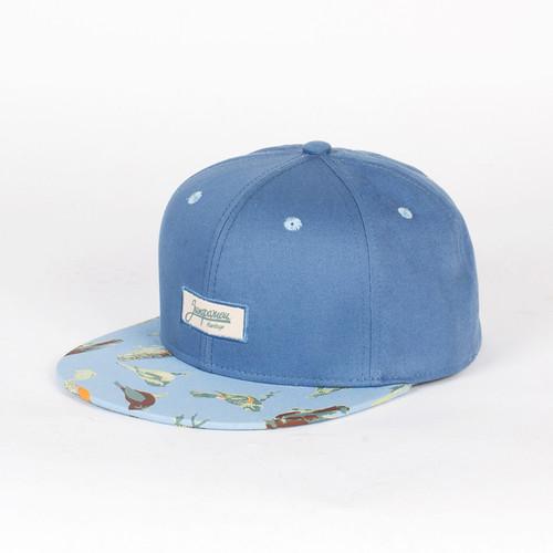 Бейсболка ЗАПОРОЖЕЦ Птички Снэп (Blue, O/S) meratti 87325