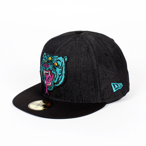 Бейсболка MISHKA Beast Of The East NE 5950 (Black Denim, 7 1/8) бейсболка mishka reptilian keep watch new era 5950 black 7 5 8
