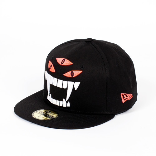 Бейсболка MISHKA Kill With Power NE 5950 (Black, 7 3/8) бейсболка mishka reptilian keep watch new era 5950 black 7 5 8