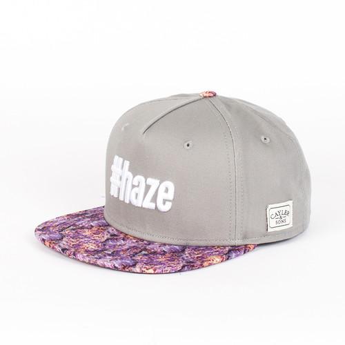 Бейсболка CAYLER & SONS #haze (Grey-Purple-Haze-White, O/S) linhaoshengyue grey black red white blue green brown purple woven real mink fur hats