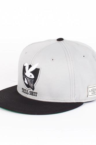 цена на Бейсболка CAYLER & SONS Trill Shit Cap (Grey-Black-White, O/S)