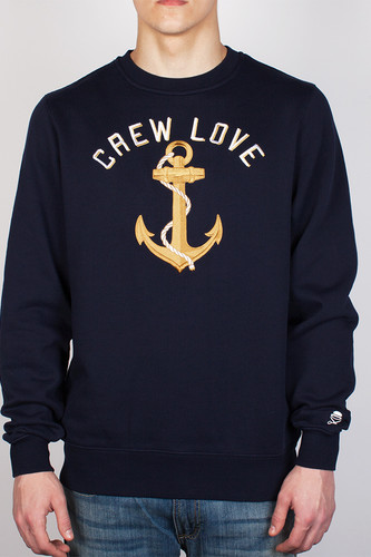 Толстовка CAYLER & SONS Lovin The Crew Crewneck (Navy/Gold/White, M)
