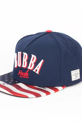 Бейсболка CAYLER & SONS Bubba Kush Cap (Navy/Red/Camo, O/S)