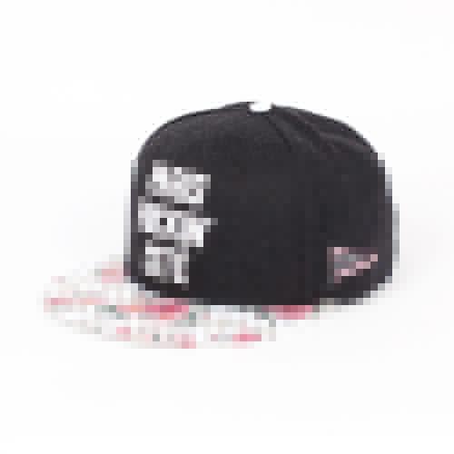 Бейсболка CAYLER & SONS Paris Throwback Cap (Black Wool/Floral Leather/White, O/S)