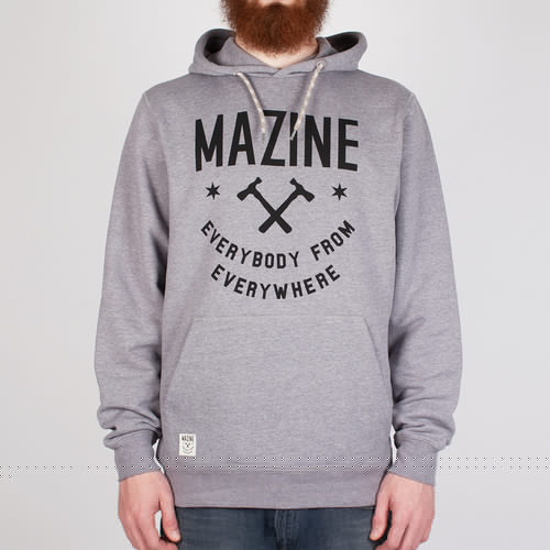 Толстовка MAZINE MRC Everybody Hoody (Mid-Grey-Melange-2223, XL) цены онлайн