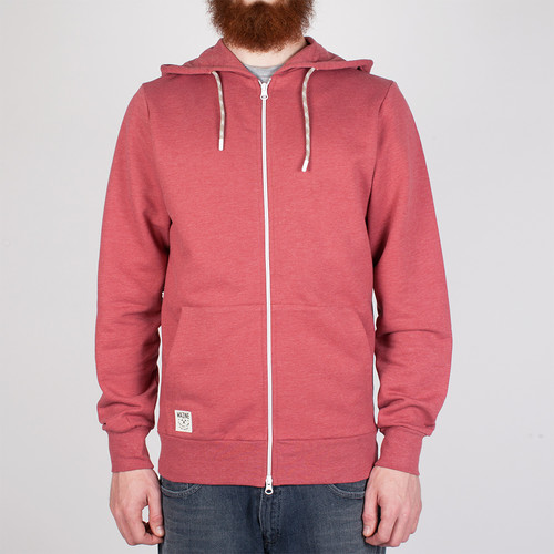 цены Толстовка MAZINE Burwood Basic Zip Hoody (Marsala Melange-12744, XL)