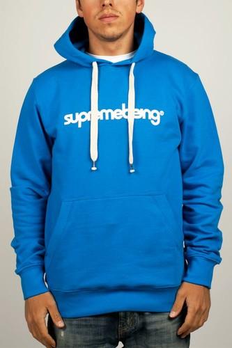 Толстовка SUPREMEBEING Basic Hood Supermod (Shore-Blue, M) толстовка supremebeing corrode washed navy m