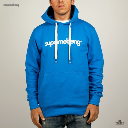 Толстовка SUPREMEBEING Basic Hood Supermod (Shore-Blue, M) толстовка supremebeing corrode washed navy m