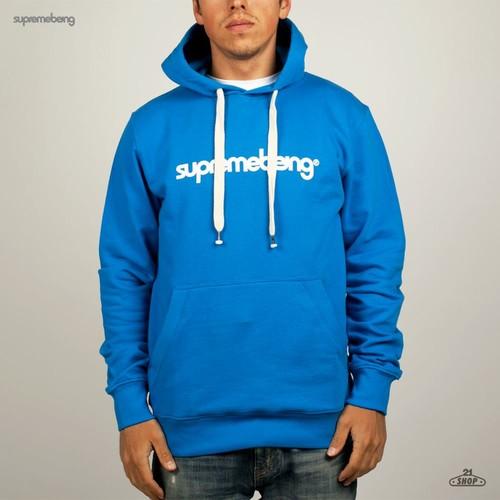 Толстовка SUPREMEBEING Basic Hood Supermod (Shore-Blue, M) шорты supremebeing dune joker purple m