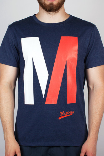 Футболка MAZINE Capitol (Navy-Heather, M)