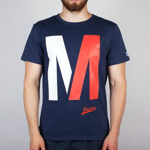 купить Футболка MAZINE Capitol (Navy-Heather, M) по цене 375 рублей