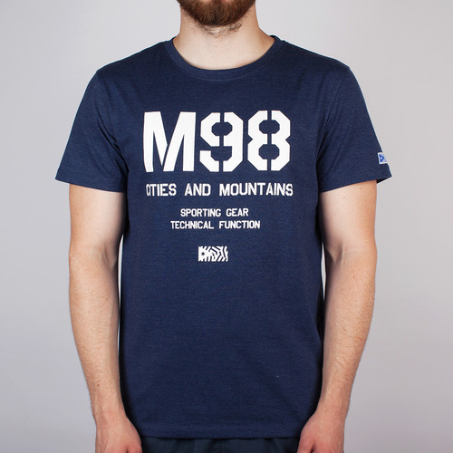 Футболка MAZINE M98 (Navy-Heather, L) цена