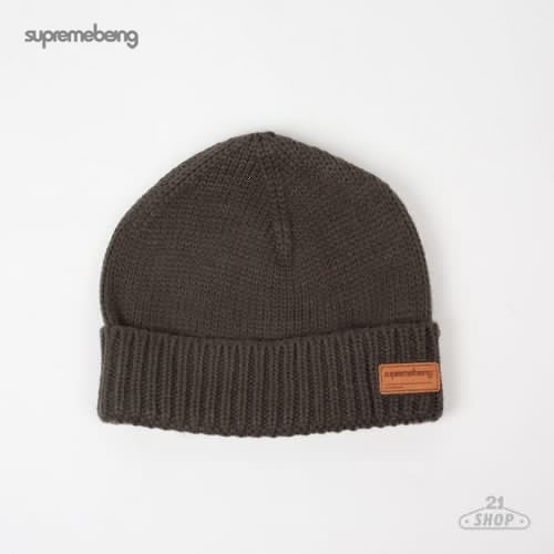 Шапка SUPREMEBEING Piste Beanie FW12 (Charcoal)
