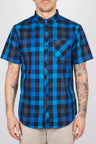 Рубашка IRIEDAILY Valle Shortsleeve (Dark Blue-325, L)