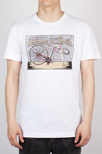 Футболка IRIEDAILY Bike theft Tee (White-710, L)