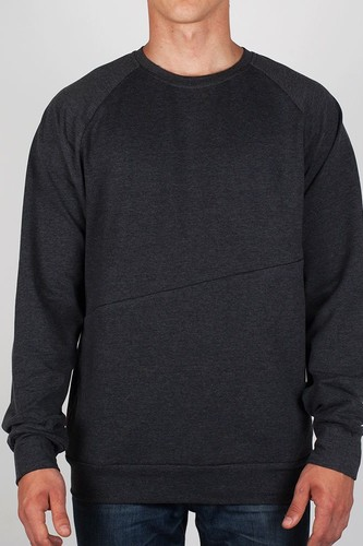 Толстовка SKILLS Crewneck Pocket (Charcoal, S)