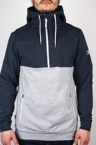 Толстовка MAZINE Male Half Zip Hoody 01 (Neo-Blue-Mel-Neo-Gr, S)