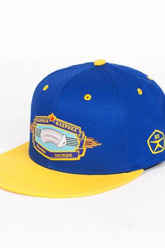 Бейсболка ЗАПОРОЖЕЦ Баян (Blue/Yellow, O/S) цена и фото