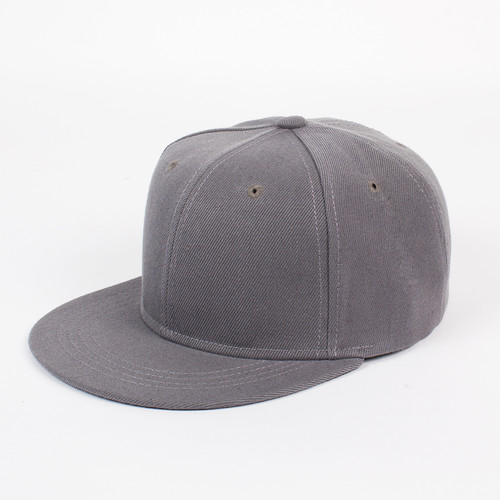 цены Бейсболка TRUESPIN Acrylic Blank Snapback (Grey, O/S)