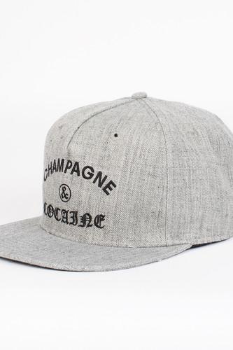 Бейсболка CROOKS & CASTLES Champagne Cocaine Snapback Cap (Speckle Grey, O/S)