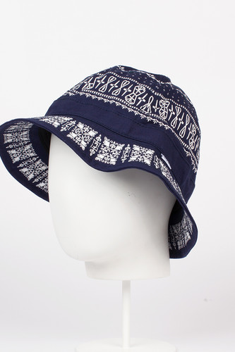 Панама CROOKS & CASTLES Native Bucket Hat (True Navy, L/XL) chaos панама hapu l xl 011 ebony