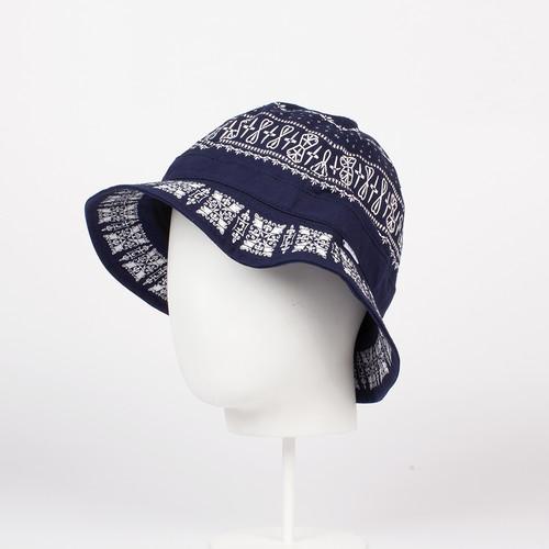 Панама CROOKS & CASTLES Native Bucket Hat (True Navy, L/XL) панама crooks