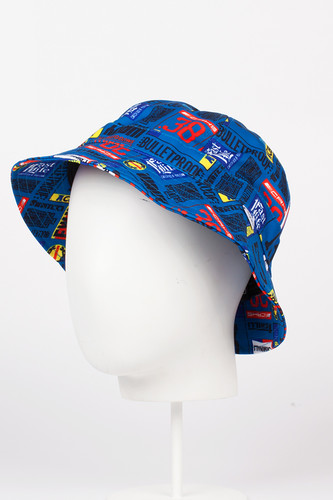 Панама CROOKS & CASTLES Skipper Bucket Hat (Scuba, L/XL) chaos панама hapu l xl 011 ebony