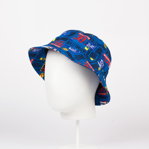 Панама CROOKS & CASTLES Skipper Bucket Hat (Scuba, L/XL)